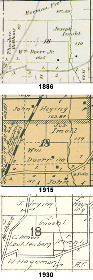 MilitaryTownshipSection18-1886-1915-1930
