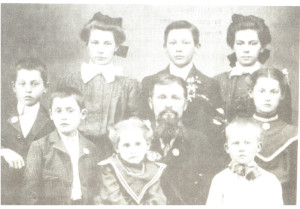 Top: Katie, Carl, Mary Bottom: George, Leo, Minnie, Vincent, Vincent, Anna
