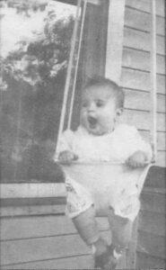 Helen Ann Doerr, about 6 months old.