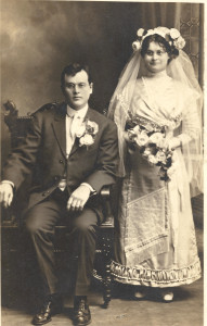 Theodore Peter Doerr and Anna Marie Kappes, married November 26, 1912